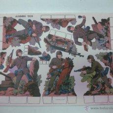 Coleccionismo Recortables: RECORTABLE SOLDADOS. ALEMANIA 1939.. Lote 54923138