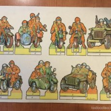Coleccionismo Recortables: RECORTABLE SERIE SOLDADOS Nº 24 CONSTRUCCIONES PEPI.. Lote 55780395