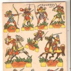 Coleccionismo Recortables: COLECCIÓN DE 16 RECORTABLES DIBUJADOS POR RIBAS. 11 X 15,8 CMS. VER IMAGENES. VELL I BELL. Lote 56012493