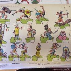 Coleccionismo Recortables: INDIOS EN EL CAMPAMENTO. RECORTABLES TORAY. OESTE.. Lote 68884197