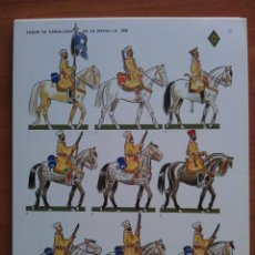 Coleccionismo Recortables: RECORTABLE : TABOR DE CABALLERÍA DE LA MEHAL - LA 1939. Lote 160736605