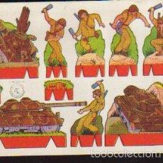 Coleccionismo Recortables: LAMINA RECORTABLES - SERIE SOLDADOS - RECORTES ROSITA - LA DE LA FOTO VER TODOS MIS RECORTABLES. Lote 59128695