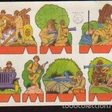Coleccionismo Recortables: LAMINA RECORTABLES - SERIE SOLDADOS - RECORTES ROSITA - LA DE LA FOTO VER TODOS MIS RECORTABLES. Lote 59128975
