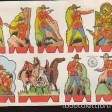 Coleccionismo Recortables: LAMINA RECORTABLES - SERIE SOLDADOS - RECORTES ROSITA - LA DE LA FOTO VER TODOS MIS RECORTABLES. Lote 97115932