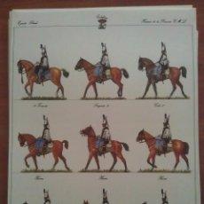 Coleccionismo Recortables: RECORTABLE EJERCITO LIBERAL - HUSARES DE LA PRINCESA. Lote 60653826