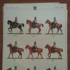 Coleccionismo Recortables: RECORTABLE EJERCITO CARLISTA DEL NORTE HUSARES DE ARLABAN. Lote 194162247