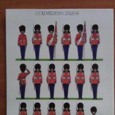 Coleccionismo Recortables: RECORTABLE SOLDADOS : COLDSTREAM GUARDS. Lote 60808831