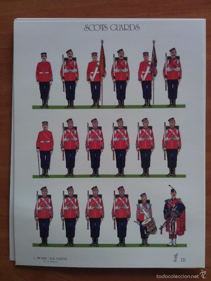 SCOTS GUARDS (Coleccionismo - Recortables - Soldados)