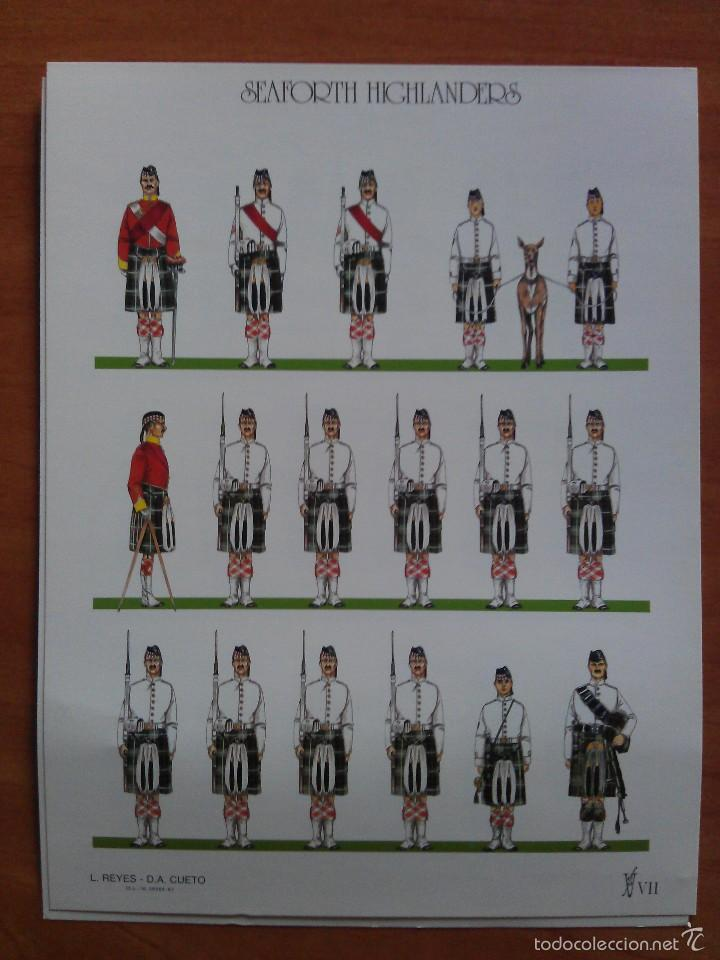 SEAFORTH HIGHLANDERS (Coleccionismo - Recortables - Soldados)