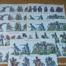Coleccionismo Recortables: 9 LAMINAS RECORTABLES .- EDICIONES BOGA .- VER DESCRIPCION . Lote 66075326