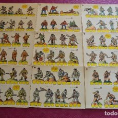 Coleccionismo Recortables: RECORTABLES SERIE AMARILLA SOLDADOS. Lote 71737211