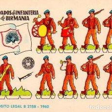 Coleccionismo Recortables: LOTE DE 10 RECOETABLES 1960. Lote 73952611