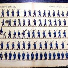 Coleccionismo Recortables: RECORTABLE. EJERCITO ESPAÑOL. INGENIEROS ZAPADORES MINADORES, Nº 28. SUC. DE HERNANDO.. Lote 76076791