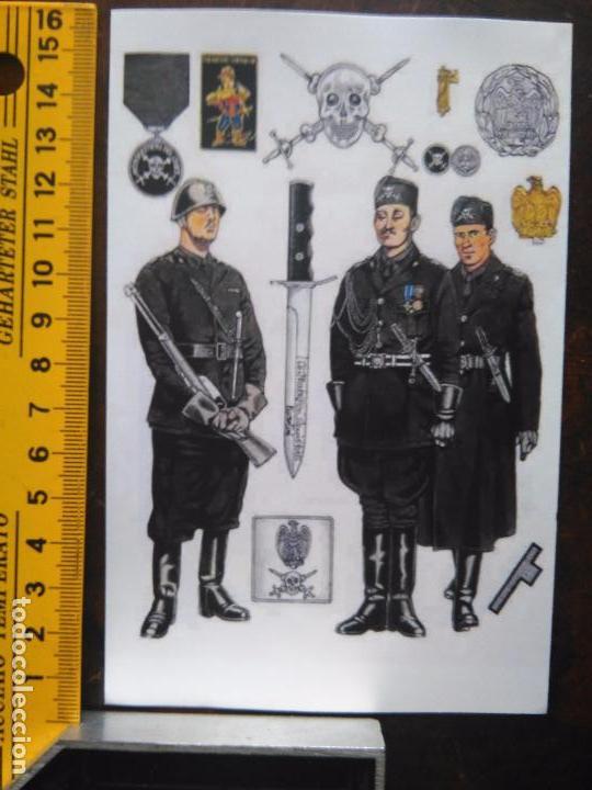 PEQUEÑA LAMINA TIPO RECORTABLE CROMOGRAFIA TEMA MILITAR , MILITARES - VER MAS EN TIENDA (Coleccionismo - Recortables - Soldados)