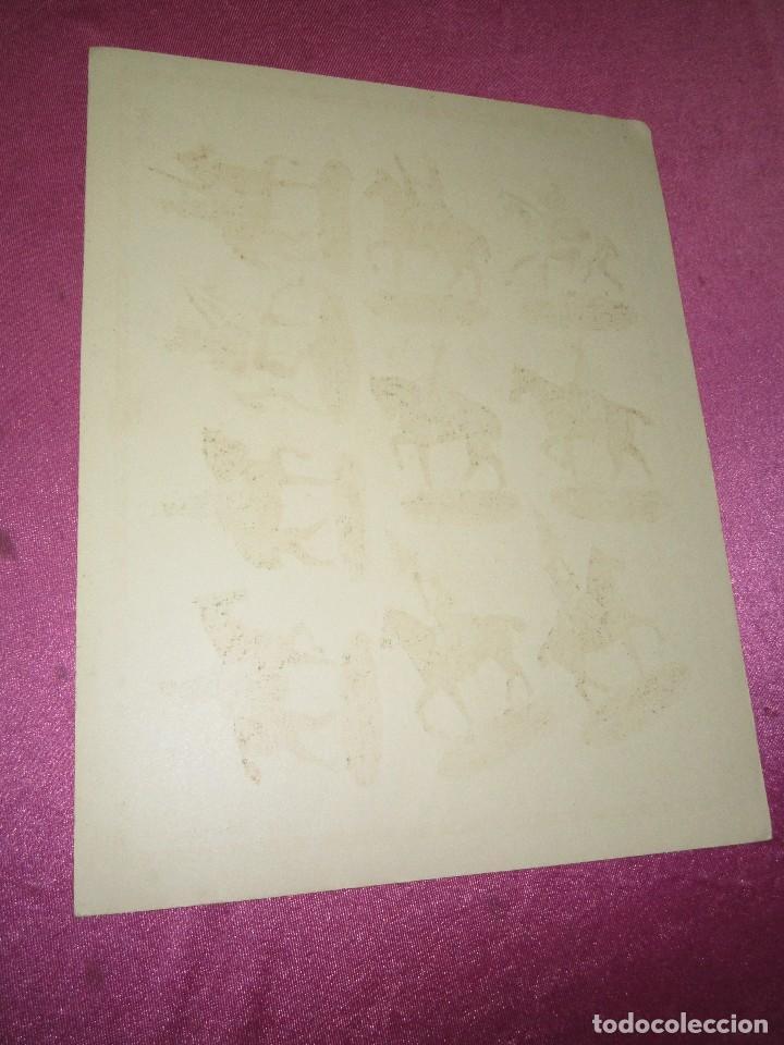Coleccionismo Recortables: RECORTABLE EJERCITO ESPAÑOL ARTILLERIA MONTADA HERNANDO Nº 812 AÑOS 20 30 - Foto 3 - 80181265