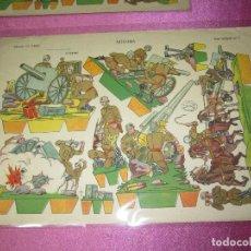 Coleccionismo Recortables: RECORTABLE ARTILLERIA EDICIONES LA TIJERA SERIE IMPERIO Nº 5 AÑO 1959.. Lote 80222141