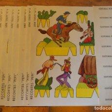 Coleccionismo Recortables: SOLDADOS DE PAPEL RECORTABLES DE EDITORIAL ROMA-PEPI. Lote 81115124