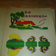 Coleccionismo Recortables: GRANJA EN CARTON. Lote 81205168