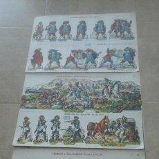 Coleccionismo Recortables: TRES RECORTABLES SOLDADOS.BOGA.. Lote 83394542