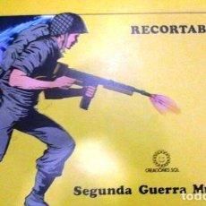 Coleccionismo Recortables: CUADERNO RECORTABLES Nº 1 SEGUNDA GUERRA MUNDIAL. Lote 86227364