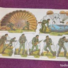 Coleccionismo Recortables: RECORTABLES - 10 LÁMINAS DIFERENTES DE SOLDADOS - NÚMEROS DEL 1 AL 10 - BUEN ESTADO - HAZ OFERTA. Lote 91580095