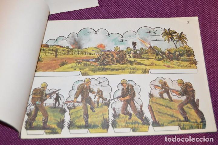 Coleccionismo Recortables: RECORTABLES - 10 LÁMINAS DIFERENTES DE SOLDADOS - NÚMEROS DEL 1 AL 10 - BUEN ESTADO - HAZ OFERTA - Foto 3 - 91580095