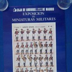 Coleccionismo Recortables: CARTEL RECORTABLE DE LA MUSICA DE ALABARDEROS. Lote 95709095
