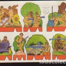 Coleccionismo Recortables: RECORTABLES - SERIE SOLDADOS - RECORTES ROSITA - EDITORIAL ROMA -EL DE LA FOTO VER TODOS MIS RECORT. Lote 95867139