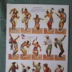 Coleccionismo Recortables: RECORTABLES ZAS - SERIE A - NÚMERO 1. Lote 95997363