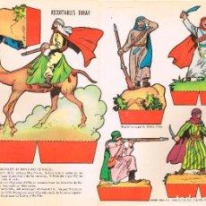 Coleccionismo Recortables: SOLDADOS MARROQUIES DE PRINCIPIO DEL SIGLO XX. RECORTABLES TORAY Nº 155. Lote 98125175