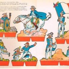 Coleccionismo Recortables: SOLDADOS FRANCESES DE LA EPOCA IMPERIAL (NAPOLEÓN). RECORTABLES TORAY Nº 158. Lote 98125439