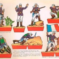 Coleccionismo Recortables: TROPAS COLONIALES DRANCESAS (LEGIÓN EXTRANJERA). RECORTABLES TORAY Nº 159. Lote 101368867