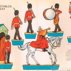 Coleccionismo Recortables: GUARDIA REAL INGLESA. RECORTABLES TORAY Nº 160. Lote 98125599