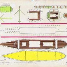 Coleccionismo Recortables: RECORTABLES TORAY GRUPO 15 BARCOS II 60. BARCO MERCANTE (BEAUMONT), 1962. OFRT. Lote 99653460