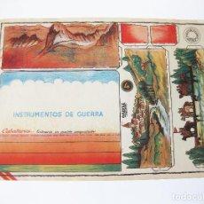 Coleccionismo Recortables: RECORTABLE CONSTRUCCIONES COSTALES. INSTRUMENTOS DE GUERRA. CABALLERÍA ENTRANDO EN UN PUEBLO CONQUIS. Lote 102037775