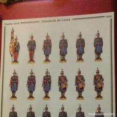 Coleccionismo Recortables: ESPAÑA 1918,INFANTERÍA DE LÍNEA,OFICINA RELACIONES PÚBLICAS,CUARTEL GENERAL DEL EJERCITO, D. SALAS. Lote 102591719
