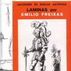 Collezionismo Figurine da Ritagliare: 12 LAMINAS ARMAS EMILIO FREIXAS SERIE 34 1964. Lote 103431547