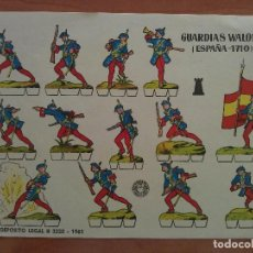 Coleccionismo Recortables: BRUGUERA 100 RECORTABLES MILITARES DIVERSOS. Lote 103934335