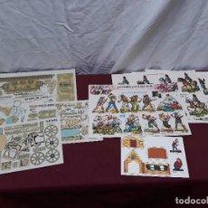 Coleccionismo Recortables: LOTE RECORTABLE... HEROES Y SOLDADOS ( A - G ). EL SOLDADO (TANQUE, AVION,BUQUE, TARTANA ).. GOOFY. Lote 103995843