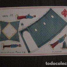 Coleccionismo Recortables: RECORTABLE EDITORIAL HERNANDO MADRID-Nº 9 - GARITA -VER FOTOS -(V-12.697). Lote 104057351