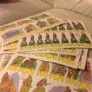 Coleccionismo Recortables: RECORTES AZUCENA 15 LÁMINAS. Lote 104644119