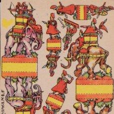Coleccionismo Recortables: LEGIONES ROMANAS. Lote 105109011