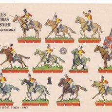 Coleccionismo Recortables: REALES GUARDIAS A CABALLO (INGLATERRA). Lote 105118563
