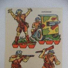 Coleccionismo Recortables: RECORTABLE JAPONESES. Lote 106161467