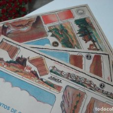 Coleccionismo Recortables: INSTRUMENTOS DE GUERRA - NUMEROS. 2 - 3 - 4 CONSTRUCCIONES COSTALES NO ADMITO OFERTAS. Lote 106591247