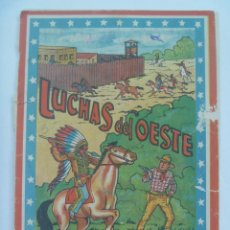 Coleccionismo Recortables: CUADERNILLO DE RECORTABLES ¨ LUCHAS DEL OESTE ¨ . MARCA LA TIJERA, MADRID.. Lote 109322067