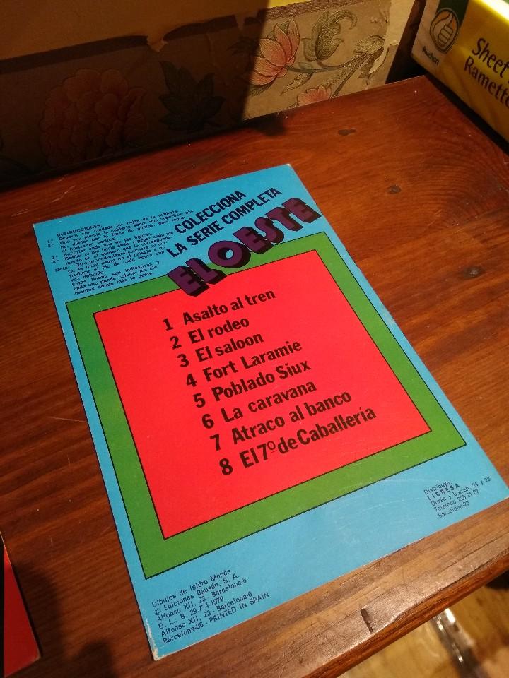 Coleccionismo Recortables: Colección de 8 cuadernillos con recortables EL OESTE - Foto 4 - 45485735