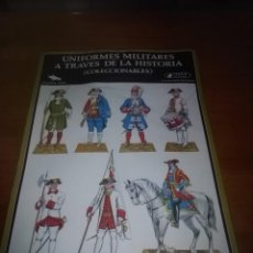 Coleccionismo Recortables: UNIFORMES MILITARES A TRAVÉS DE LA HISTORIA. SERIE. A -4. . A -5. 2 DE CADA. . Lote 114667711