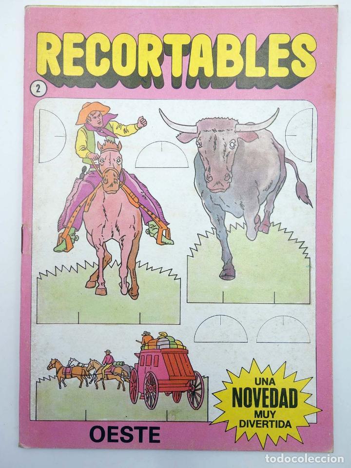 RECORTABLES UNA NOVEDAD MUY DIVERTIDA 2. OESTE (ESTUDI BONNET) BRUGUERA, 1984 (Coleccionismo - Recortables - Soldados)
