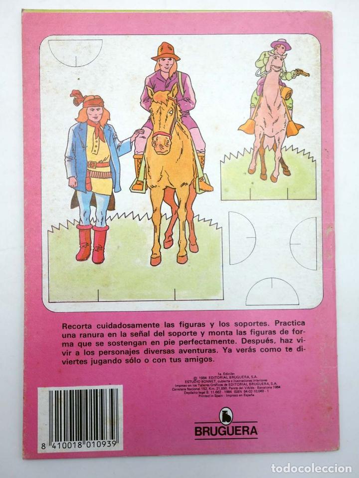 Coleccionismo Recortables: RECORTABLES UNA NOVEDAD MUY DIVERTIDA 2. OESTE (Estudi Bonnet) Bruguera, 1984 - Foto 2 - 147670770